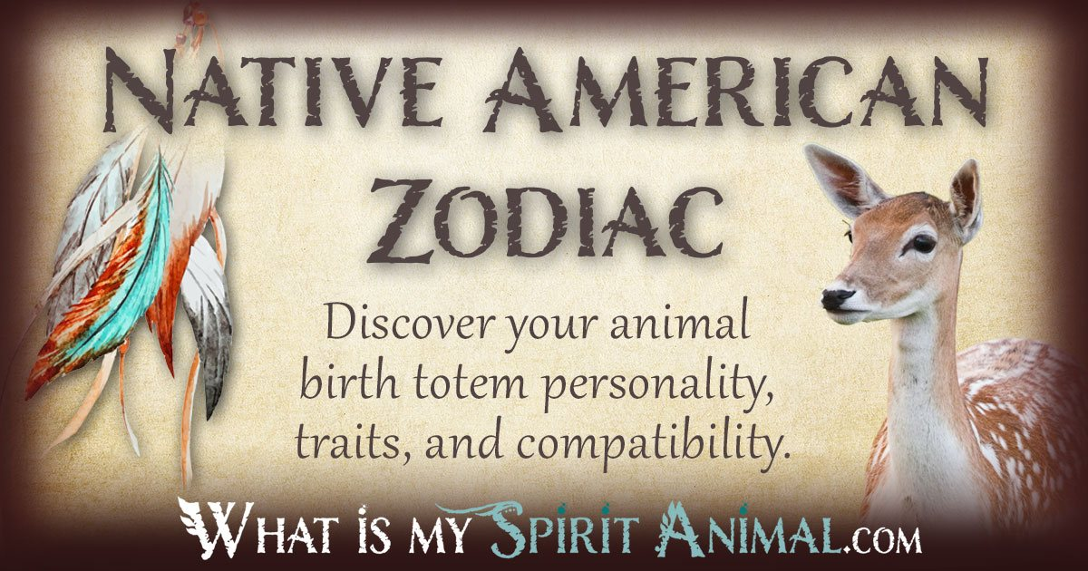 Native American Zodiac Signs 1200x630