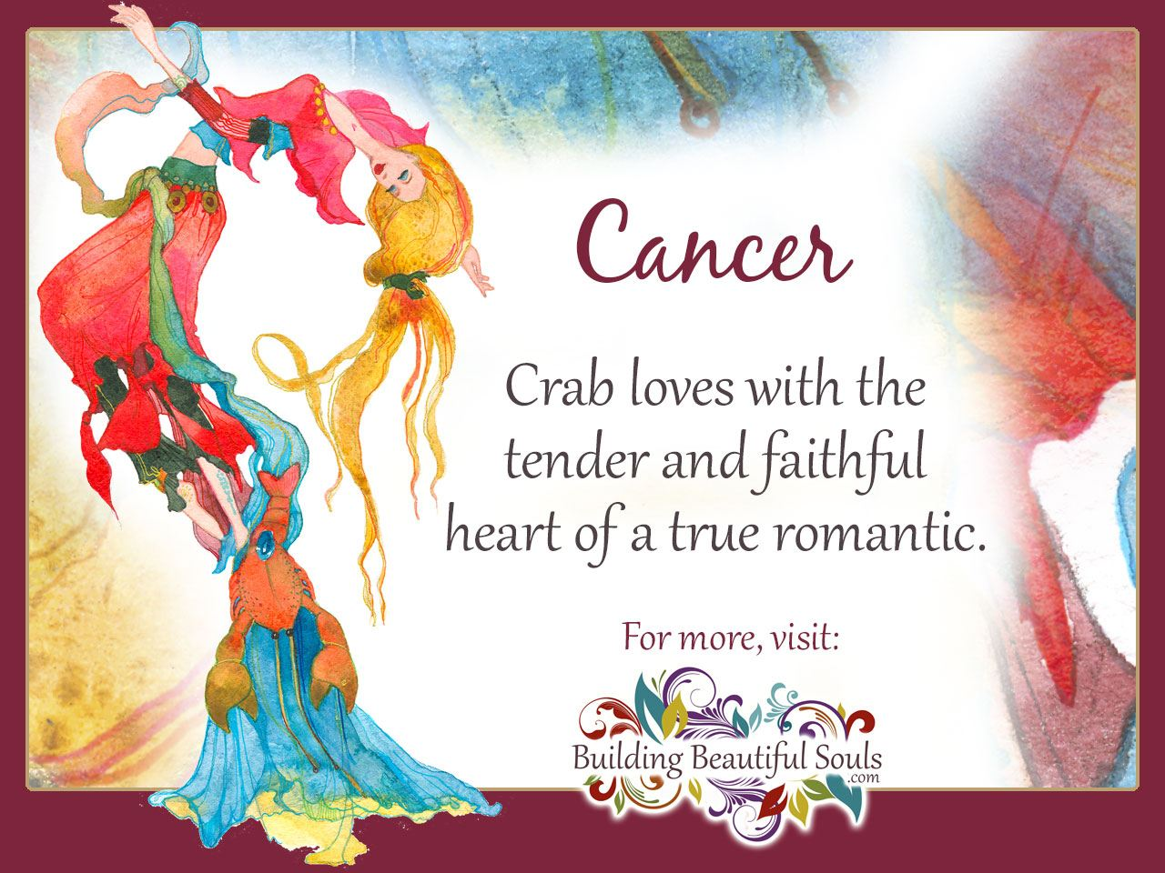 Astrology Cancer Hookup Cancers Astrology Flower