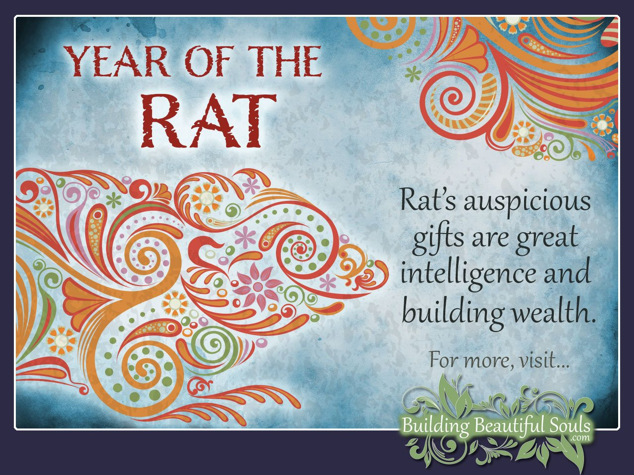 year of the rat meaning