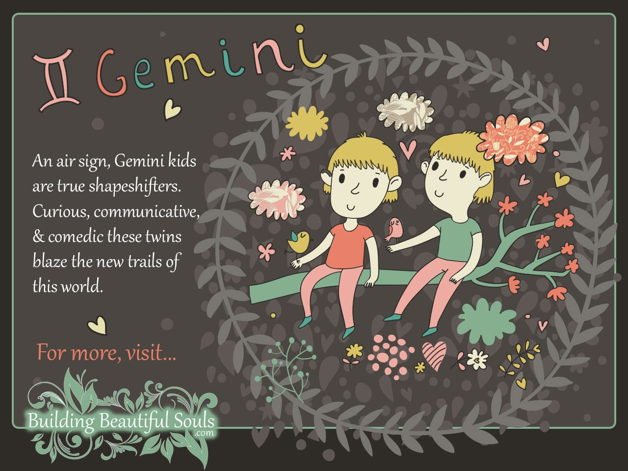 The gemini child gemini girl boy traits personality for A star is born kids salon