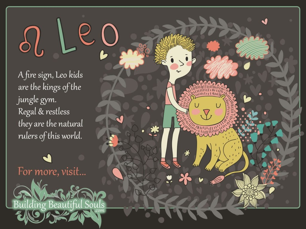 The Leo Child Leo Girl Boy Traits Personality Zodiac Signs