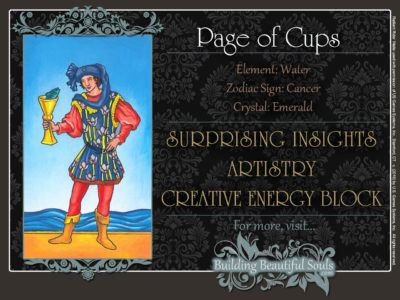 Page of Cups Tarot Card Meanings Rider Waite Tarot Deck