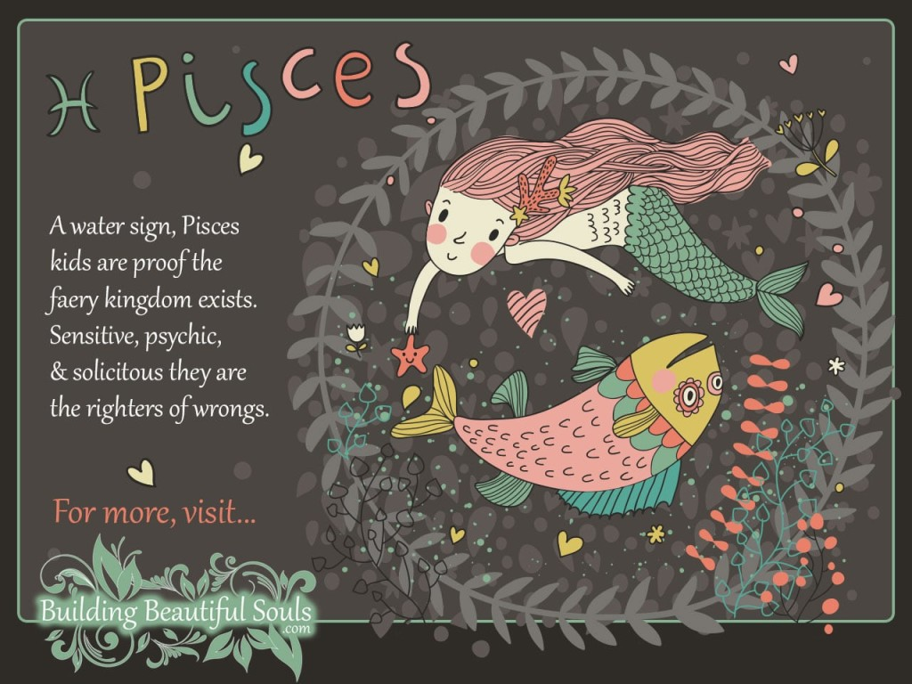 Pisces Child Pisces Girl Boy Traits Personality Zodiac Signs