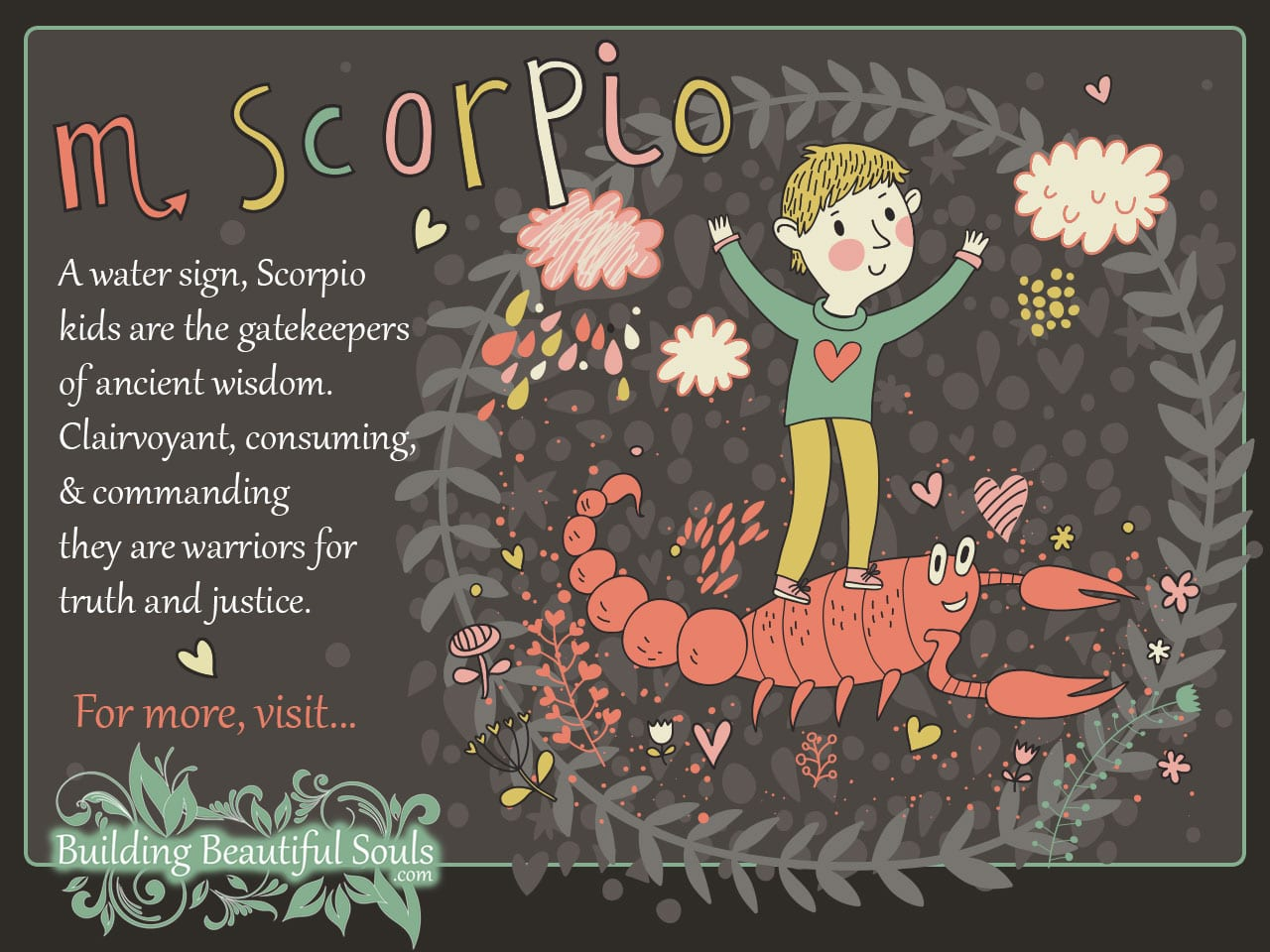 The Scorpio Child: Scorpio Girl & Boy Traits & Personality | Zodiac