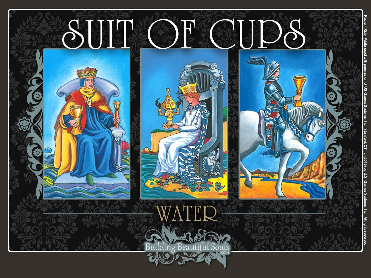 Suit Of Cups Tarot Card Meanings Tarot Reading