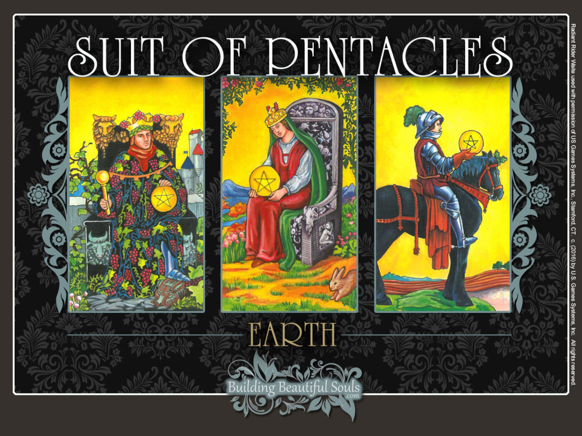 Suit of Pentacles Tarot Card Meanings Rider Waite Tarot Deck 1280x960