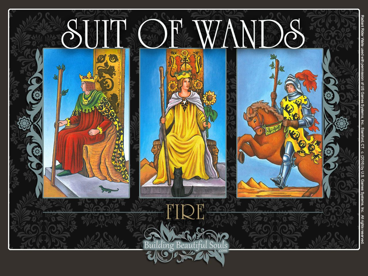 Suit of Wands Tarot Card Meanings Rider Waite Tarot Deck 1280x960