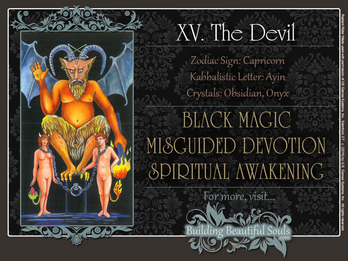 The Devil Tarot Card Meanings Rider Waite Tarot Deck 1280x960