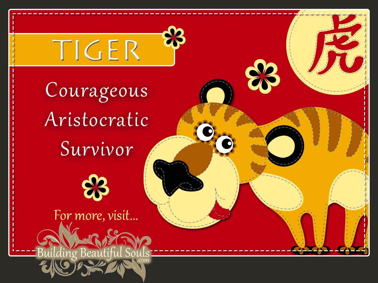 chinese zodiac tiger year of the tiger funny horoscopes funny zodiac signs - Chinese New Year Animals Meanings