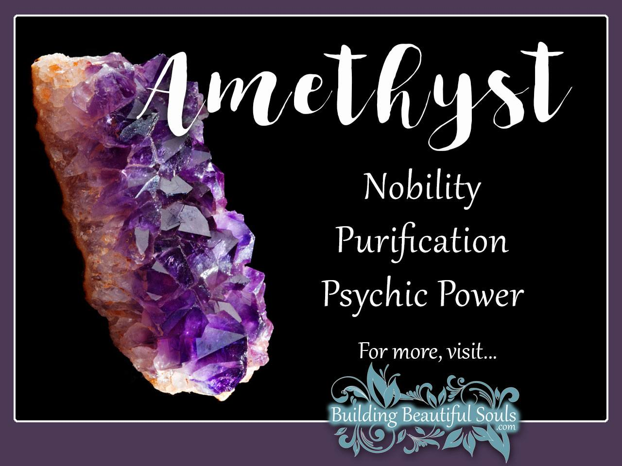 Amethyst Meaning & Properties - Healing Crystals & Stones 1280x960