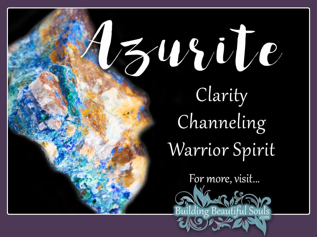 Azurite Meaning & Properties - Healing Crystals & Stones 1280x960