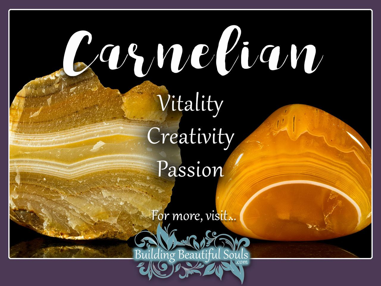 Carnelian Meaning & Properties - Healing Crystals & Stones 1280x960