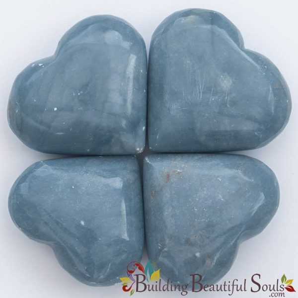 Healing Crystals Stones Angelite Hearts New Age Store 1000x1000