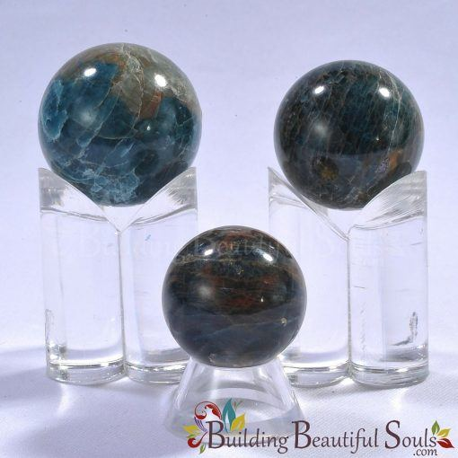 Healing Crystals Stones Blue Apatite Spheres New Age Store 1000x1000