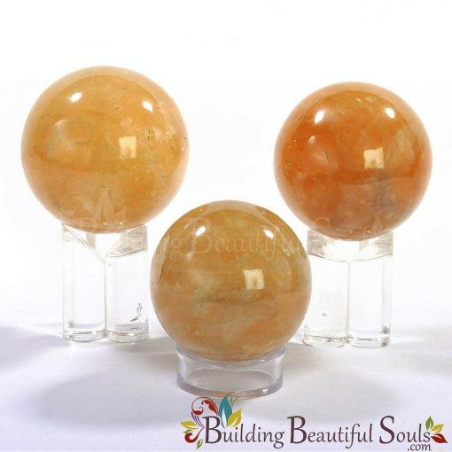 Healing Crystals Stones Citrine Spheres New Age Store 1000x1000