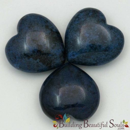 Healing Crystals Stones Dumortierite Hearts New Age Store 1000x1000
