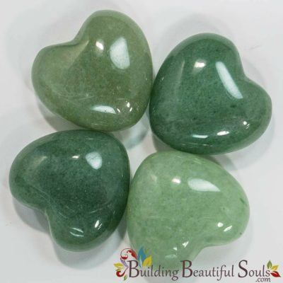 Healing Crystals Stones Green Aventurine Hearts New Age Store 1000x1000