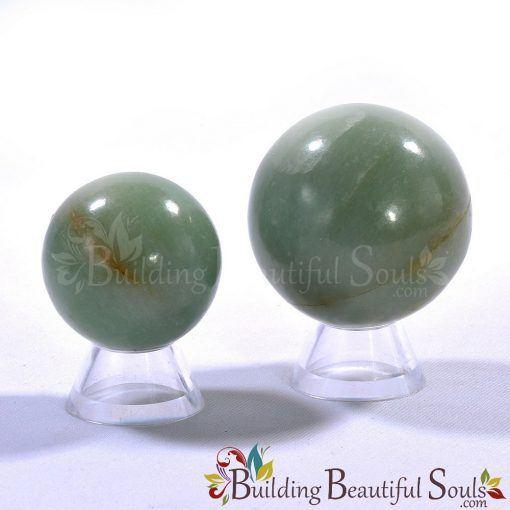 Healing Crystals Stones Green Aventurine Spheres New Age Store 1000x1000