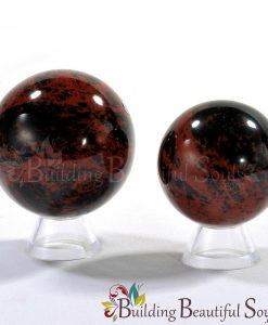 Healing Crystals Stones Mahogany Obsidian Spheres New Age Store 1000x1000