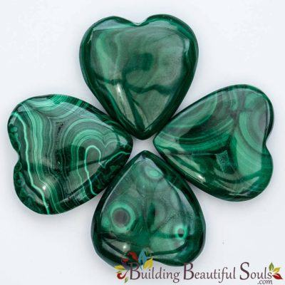 Healing Crystals Stones Malachite Hearts New Age Store 1000x1000