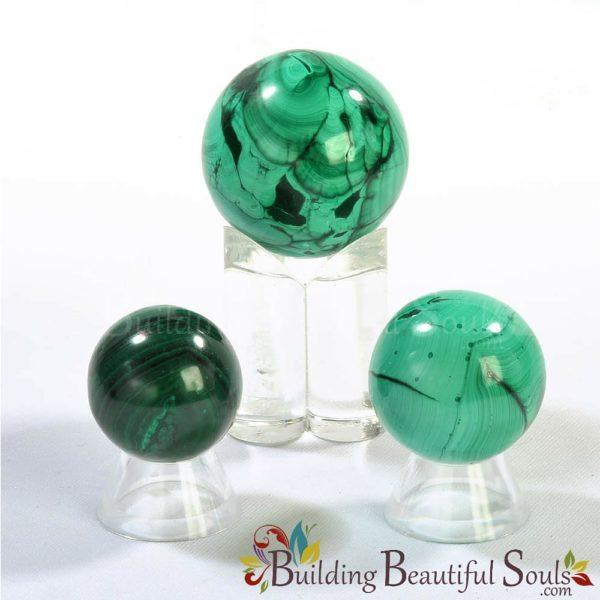 Healing Crystals Stones Malachite Spheres New Age Store 1000x1000