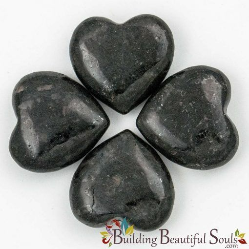 Healing Crystals Stones Nuummite Hearts New Age Store 1000x1000