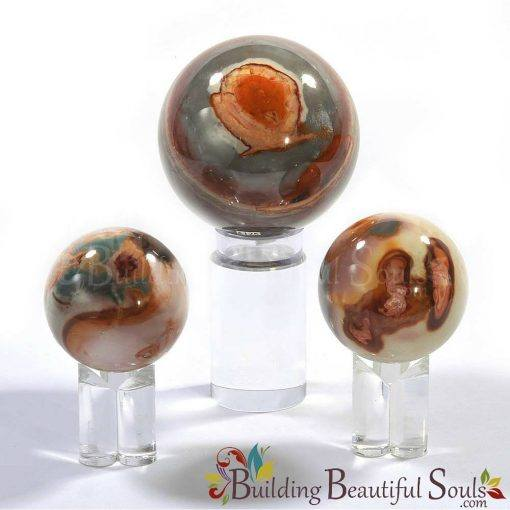 Healing Crystals Stones Polychrome Jasper Spheres New Age Store 1000x1000