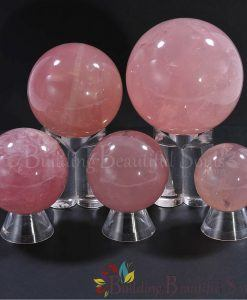 Healing Crystals Stones Rose Quartz Spheres Balls New Age 1000x1000
