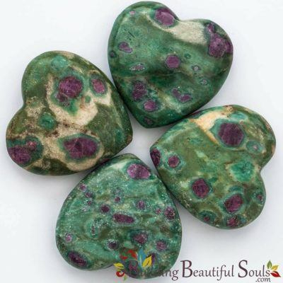 Healing Crystals Stones Ruby Fuchsite Hearts New Age Store 1000x1000