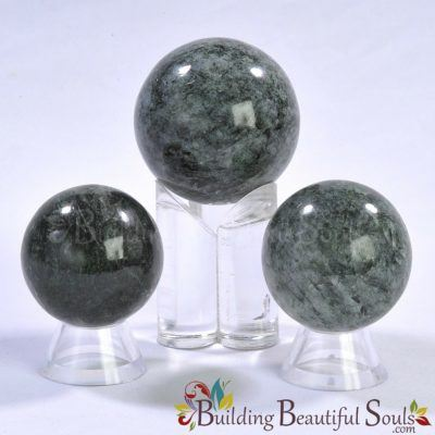 Healing Crystals Stones Seraphinite Spheres New Age Store 1000x1000