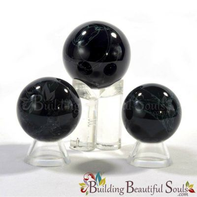 Healing Crystals Stones Spiderweb Obsidian Spheres New Age Store 1000x1000