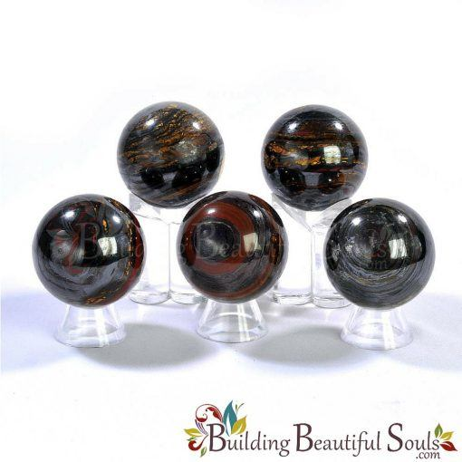 Healing Crystals Stones Tiger Iron Spheres New Age Store 1000x1000