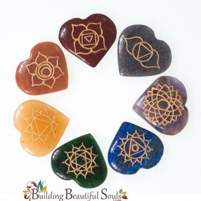 Chakra Stone Set Hearts Chakra Crystals 1000x1000