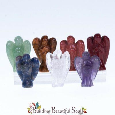Chakra Stones Chakra Crystals Set Angels 1000x1000