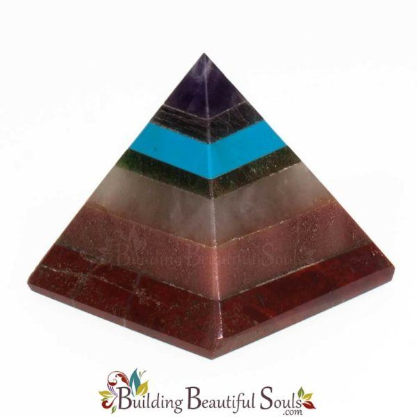 Chakra Stones Crystals Chakra Pyramid Small