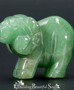Green Aventurine Ram Goat Spirit Totem Power Animal Carving 1000x1000