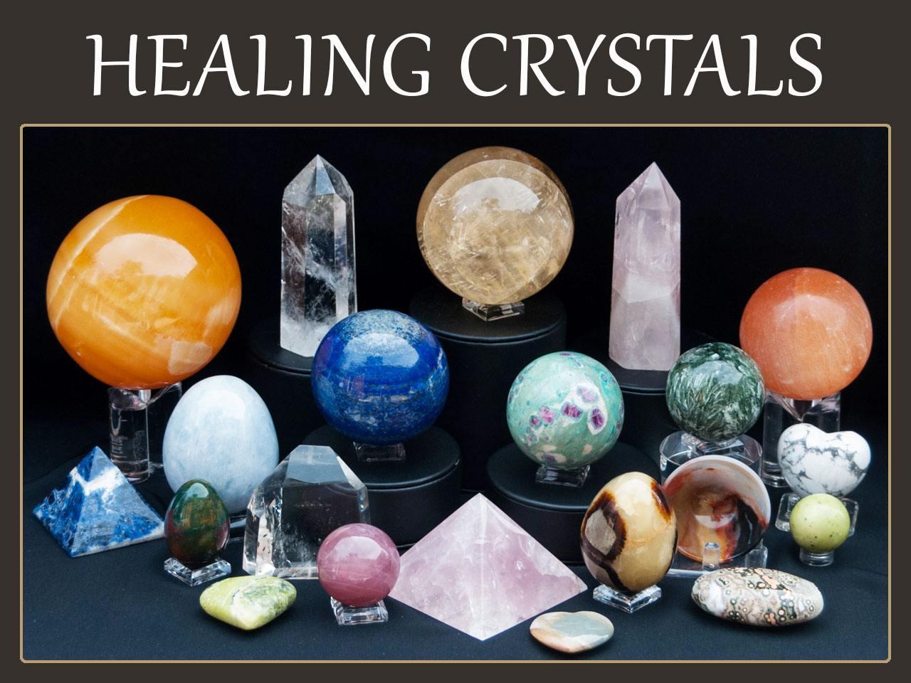 Healing Crystals, Spirit Animal Figurines | New Age