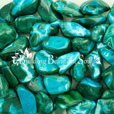 Healing Crystals Stones Tumbled Chrysocolla Malachite Metaphysical New Age Store 1000x1000