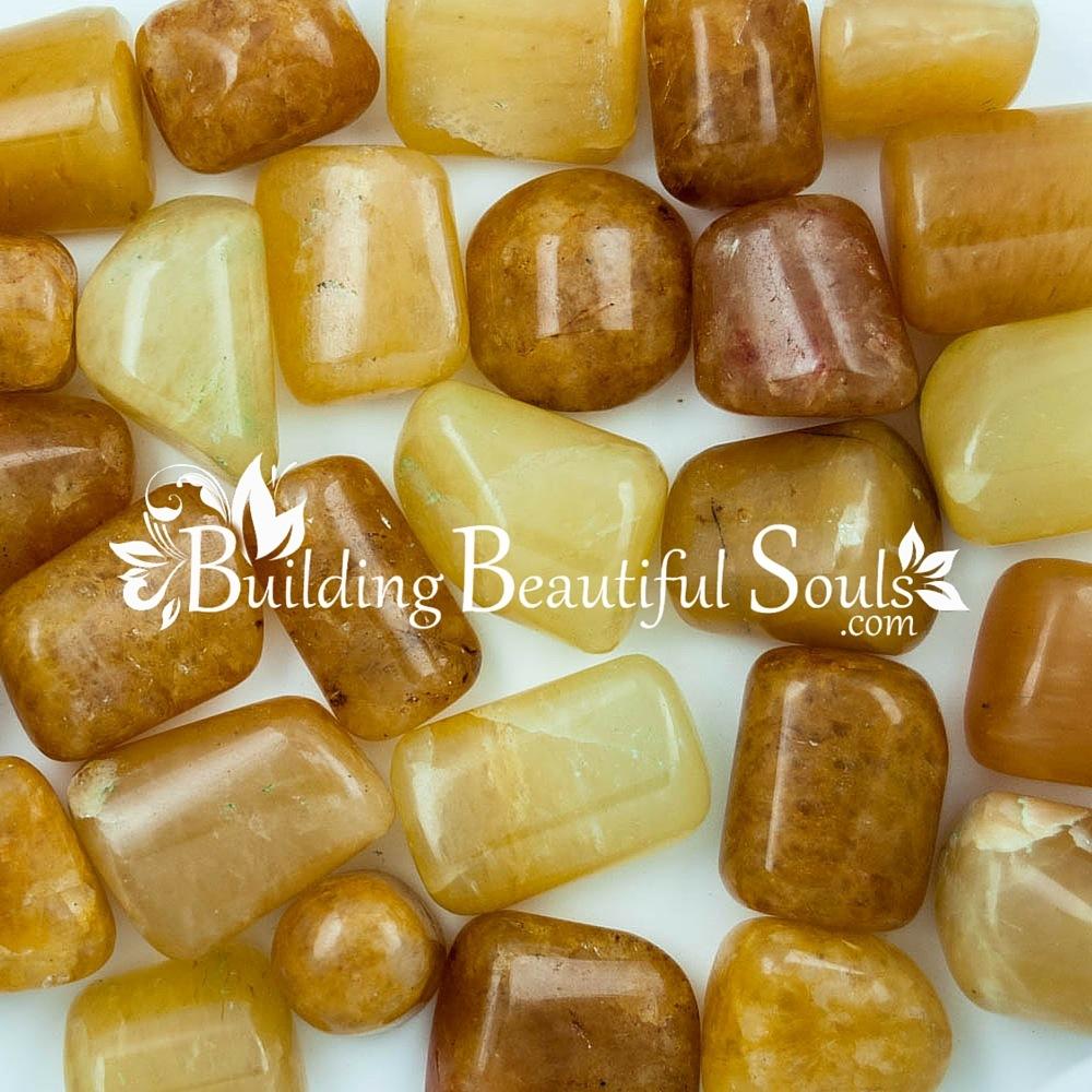 Tumbled Gold Quartz   Healing Crystals & Stones   Gold Quartz ...