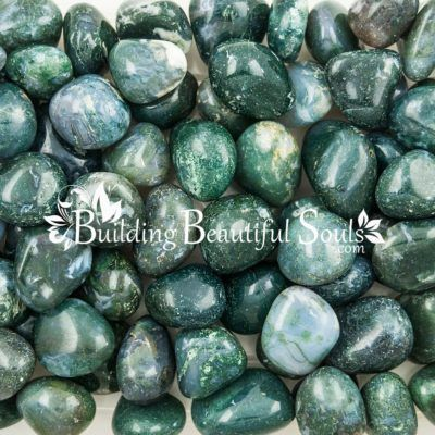Healing Crystals Stones Tumbled Moss Agate Metaphysical New Age Store 1000x1000