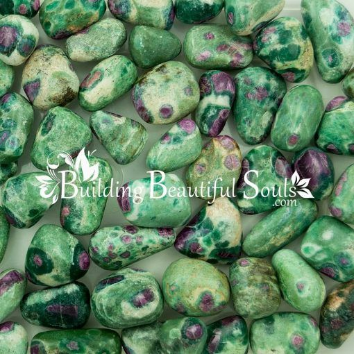 Healing Crystals Stones Tumbled Ruby Fuchsite Metaphysical New Age Store 1000x1000