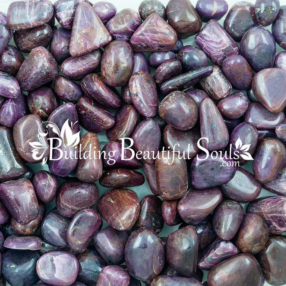 tumbled ruby healing crystals stones ruby meaning