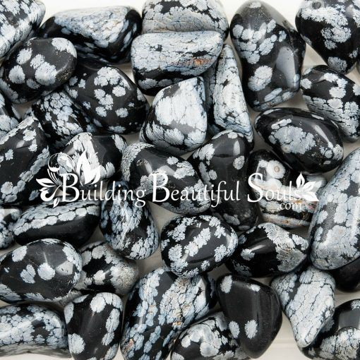 Healing Crystals Stones Tumbled Snowflake Obsidian Metaphysical New Age Store 1000x1000