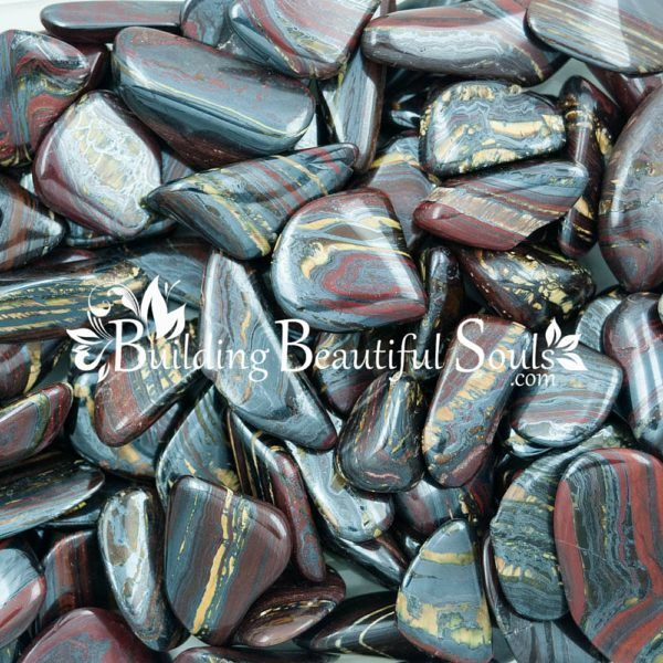 Healing Crystals Stones Tumbled Tiger Iron Metaphysical New Age Store 1000x1000