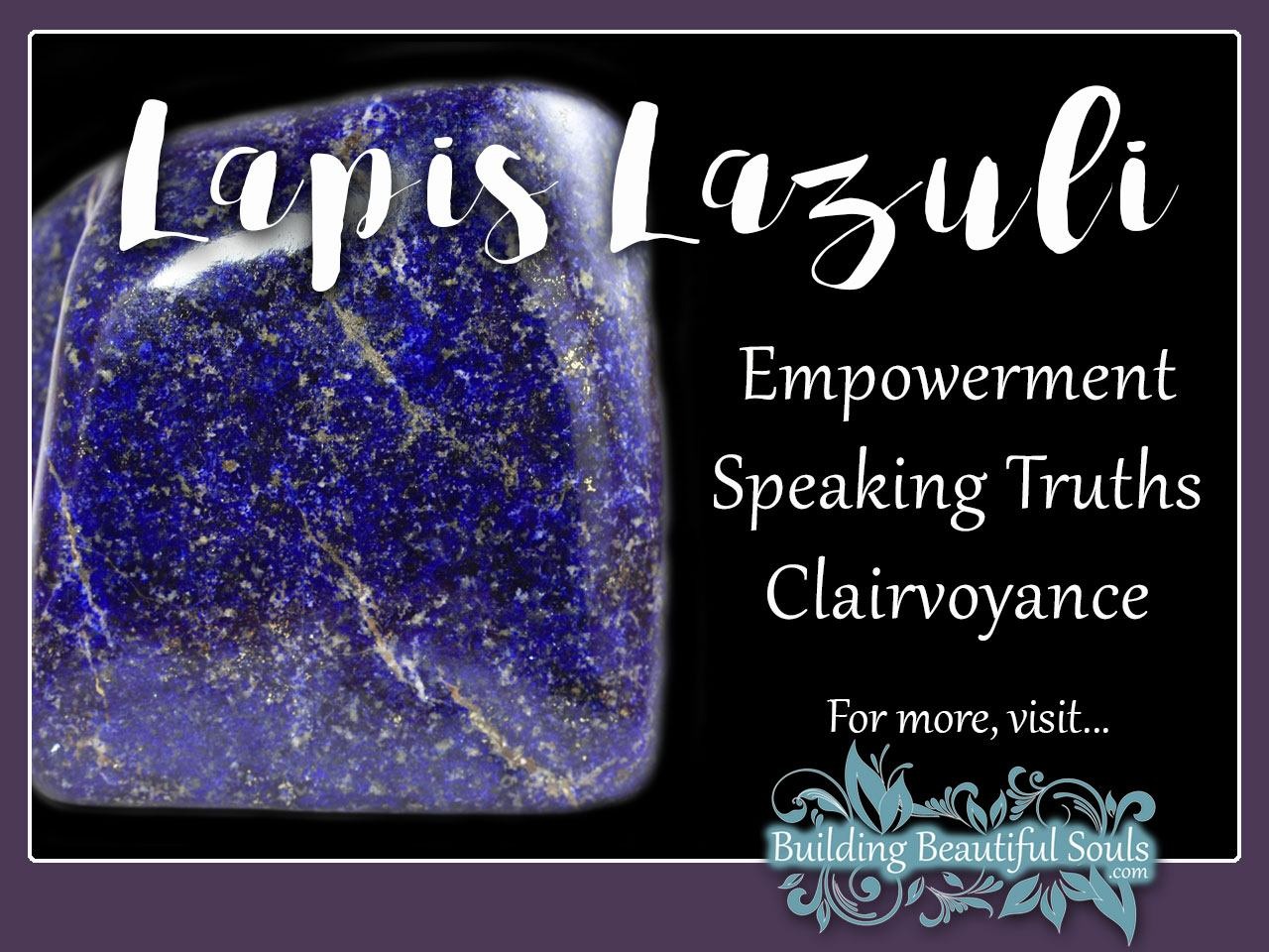 Lapis Lazuli Meaning & Properties - Healing Crystals & Stones 1280x960