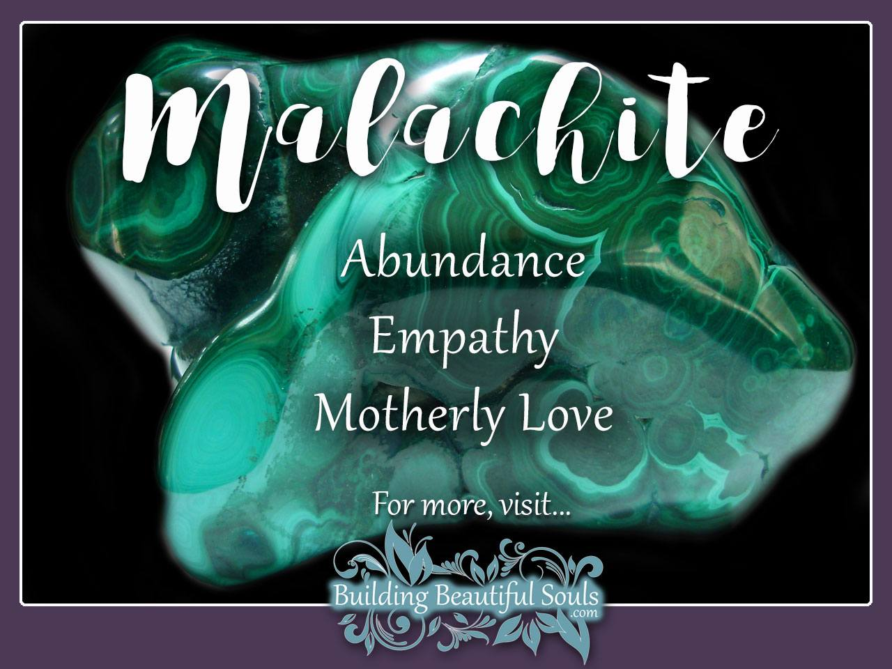 Malachite Meaning Properties Healing Crystals Gemstones