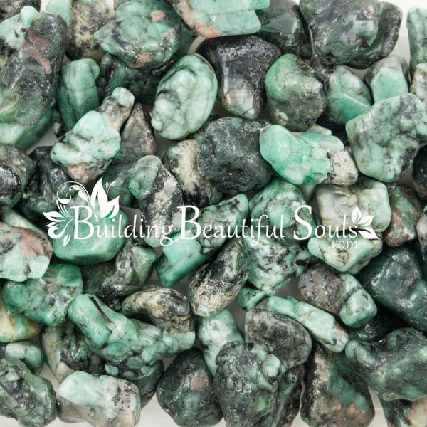 Polished Tumbled Emeralds Healing Crystals Stones Metaphysical New Age Store 1000x1000