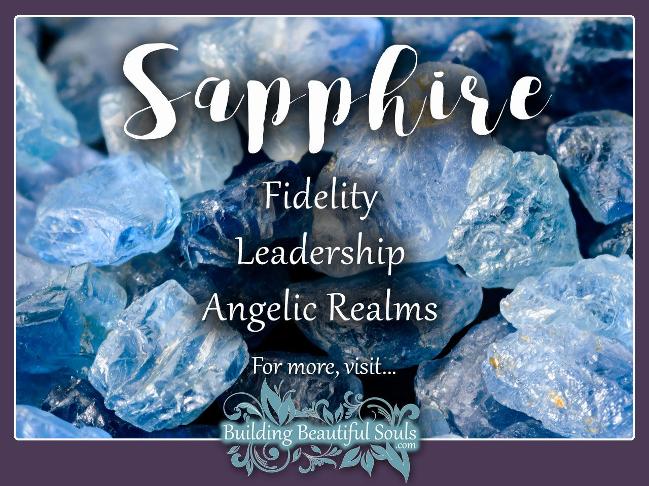 Sapphire Meaning & Properties - Healing Crystals & Stones 1280x960