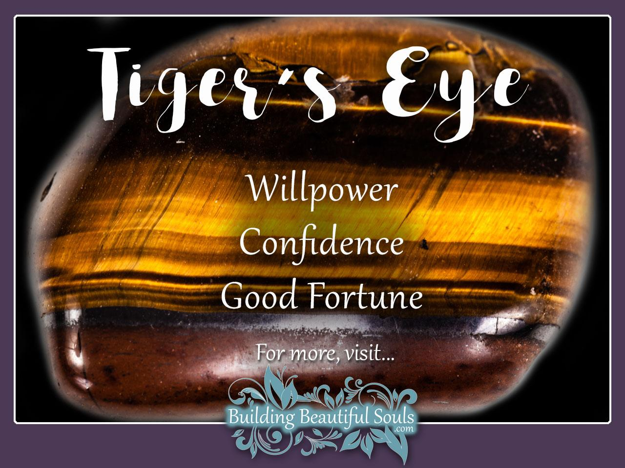 Tigers Eye Meaning Properties Healing Crystals Stones