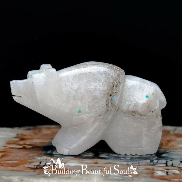 Zuni  Fetishes  Bear  Alabaster  Ephram  Chavez  Native  American  Art  A